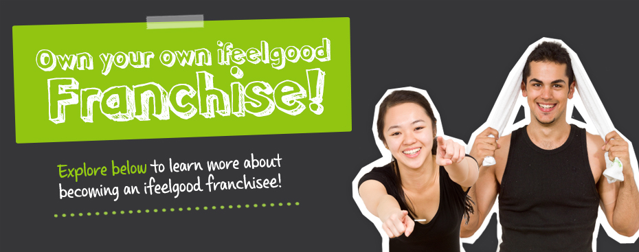 Sign up to become an ifeelgood 24/7 gym franchisee