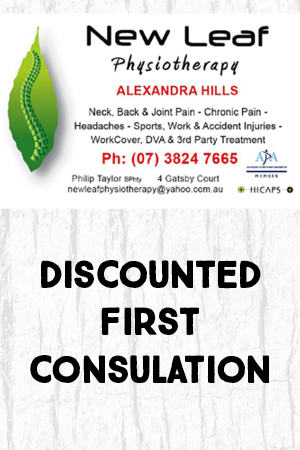 Discounted First Consultation