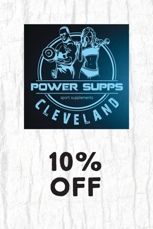 Power Supps Cleveland – sports supplements – 10% Off
