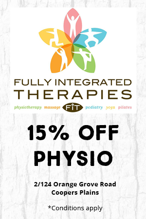 Fully Integrated Therapies, 15% off physio, 2/124 Orange Grove Road, Coopers Plains *Conditions Apply