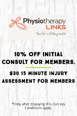 10% off initial consult for members. $30 15 minute injury assessment for members