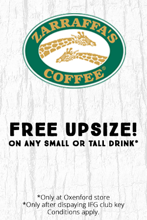Free Upsize Small or Tall Drink *Oxenford Store