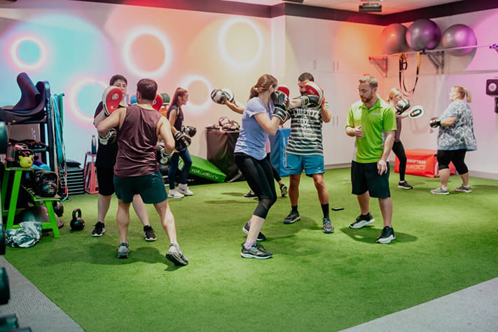 Boxing Classes at Oxenford ifeelgood 24/7