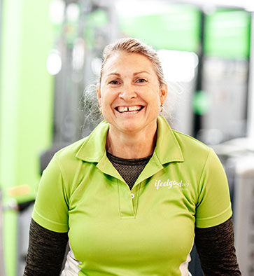 ifeelgood 24/7 Park Ridge Club Trainer Lisa