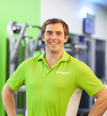 ifeelgood 24/7 Park Ridge Club Trainer Thomas