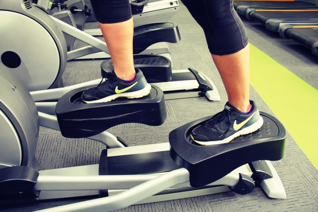 elliptical machine workout
