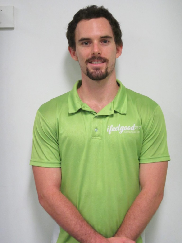 daniel from ifeelgood 24/7 Indooroopilly gym