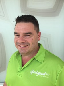 personal trainer Chris from ifeelgood 24/7 gyms
