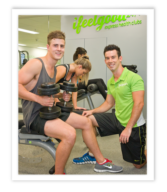 personal training at ifeelgood 247