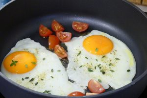 fried-eggs-buckwheat-breakfast-recipe