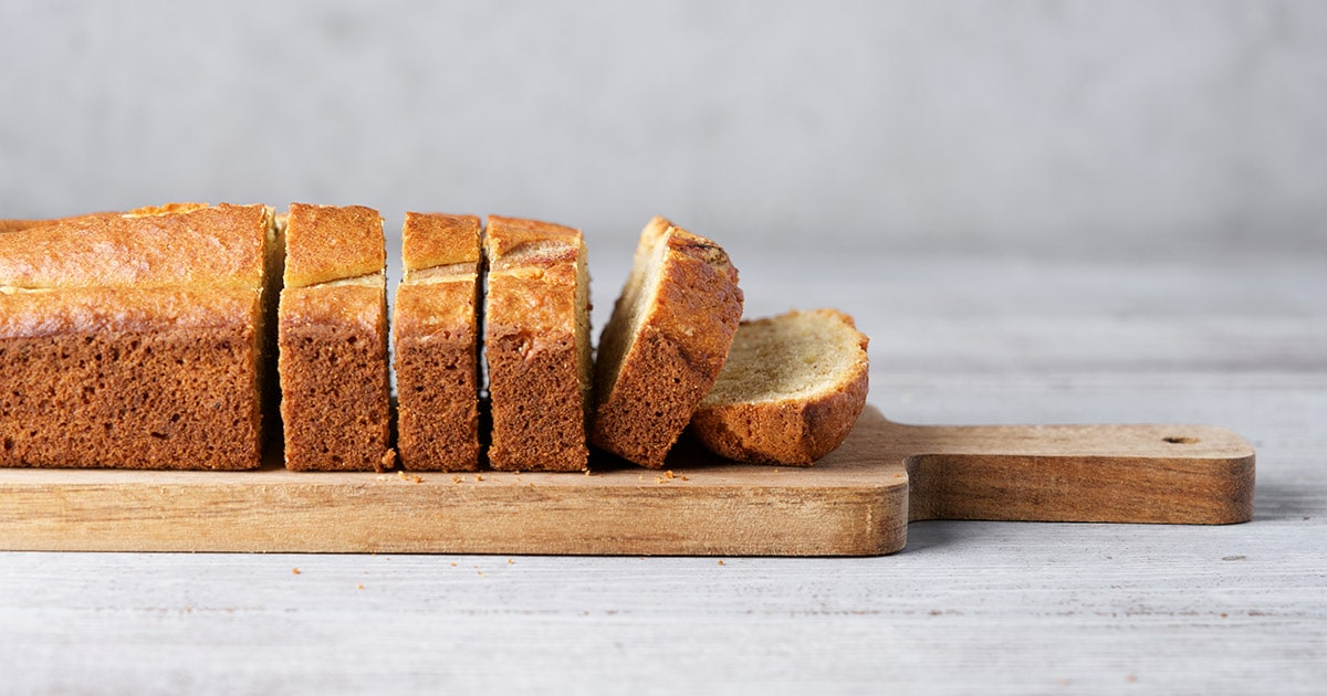 banana bread slice recipe