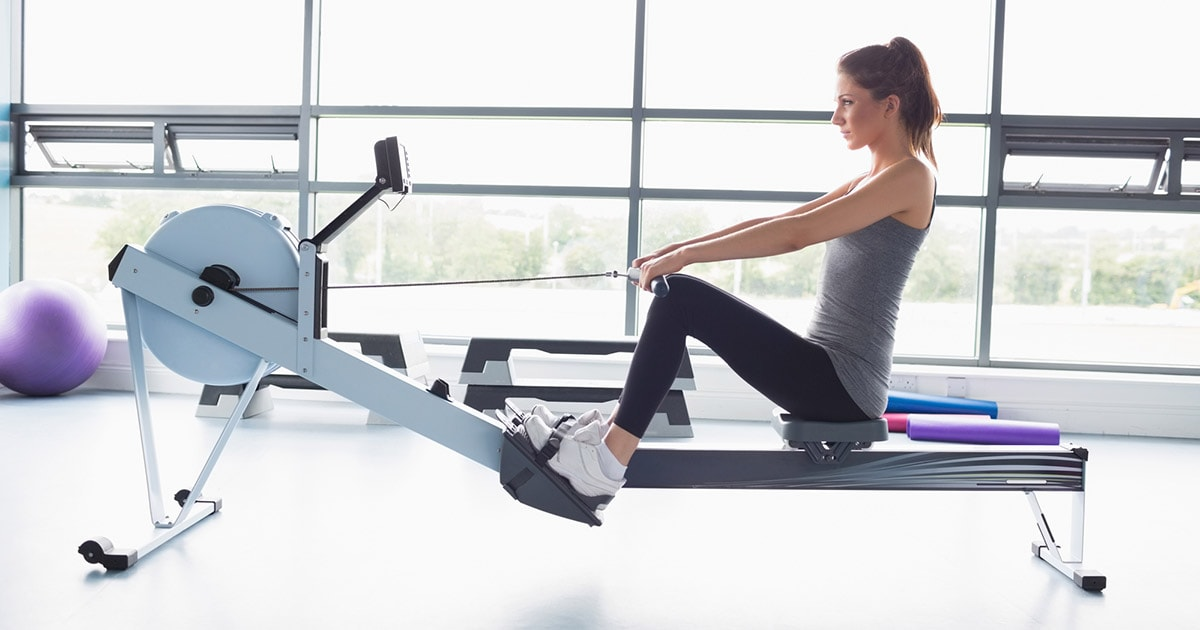 cardio workouts rowing machine