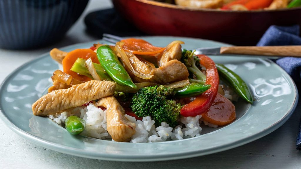 vegetable-and-chicken-stir-fry